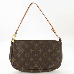 100% Auth Louis Vuitton Pochette Bag M51980